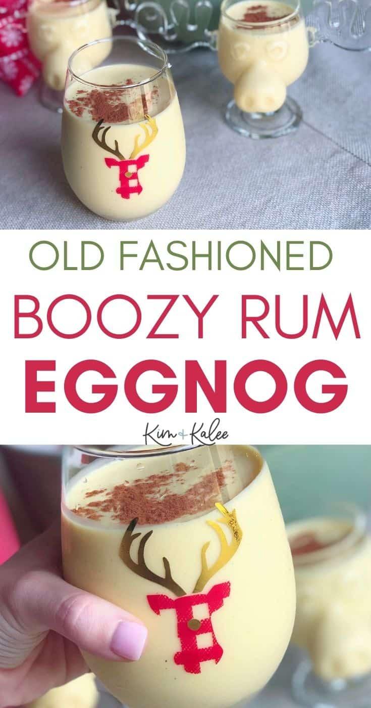 Old Fashioned Homemade Eggnog