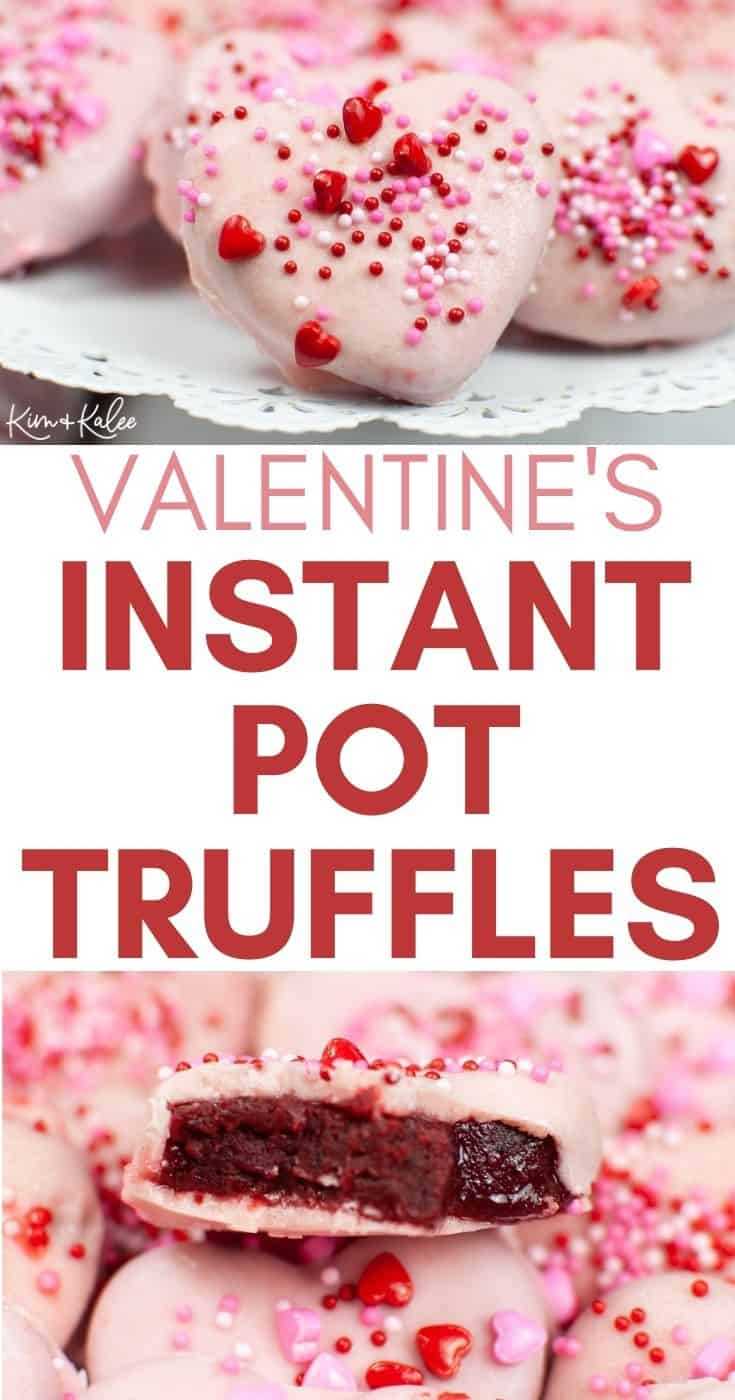 Instant Pot Valentine Dessert Truffles