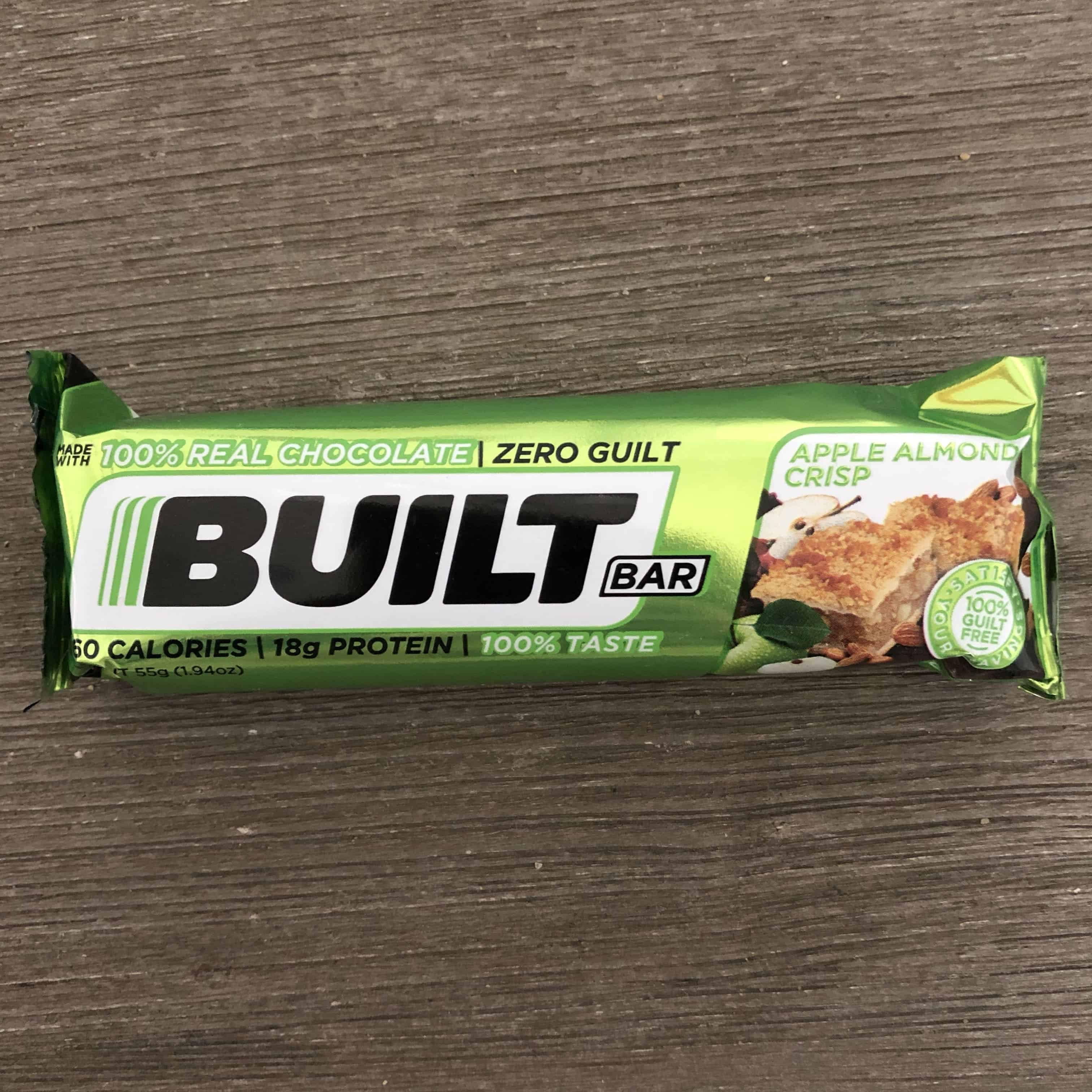apple almond crisp builtbar