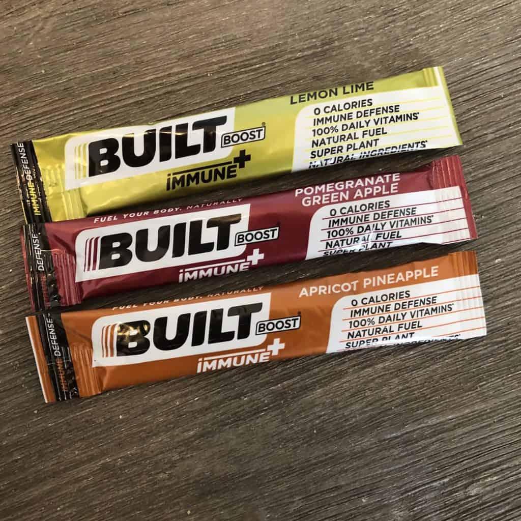 3 built boost immune+ packets