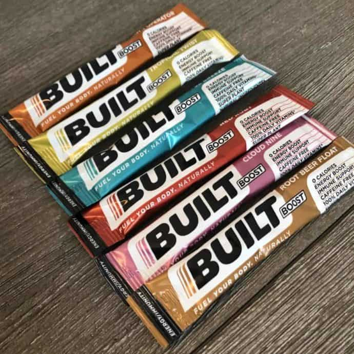 builtboost drink mix packets