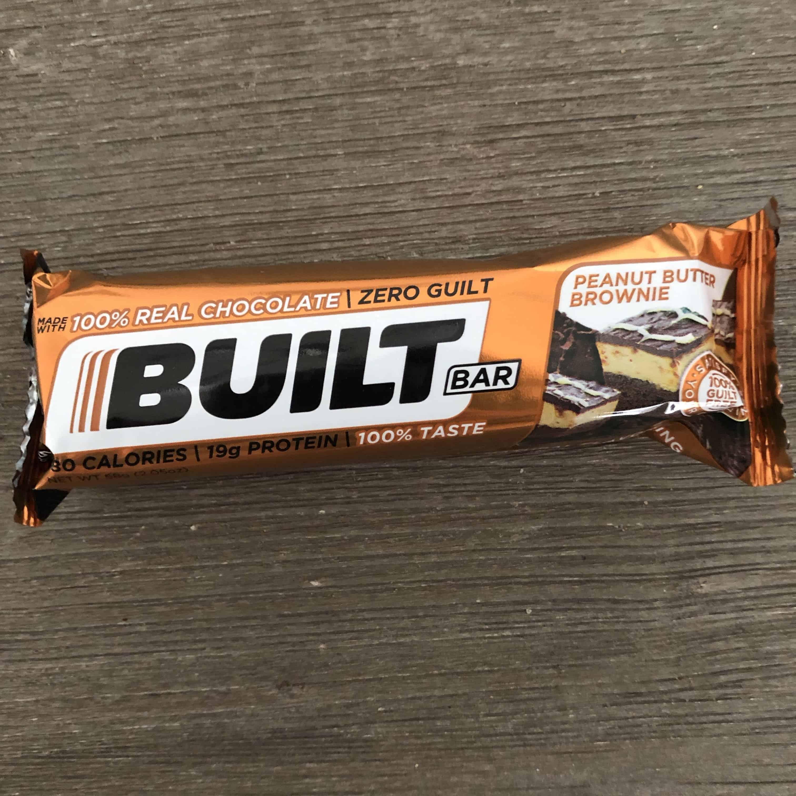peanut butter brownie builtbar