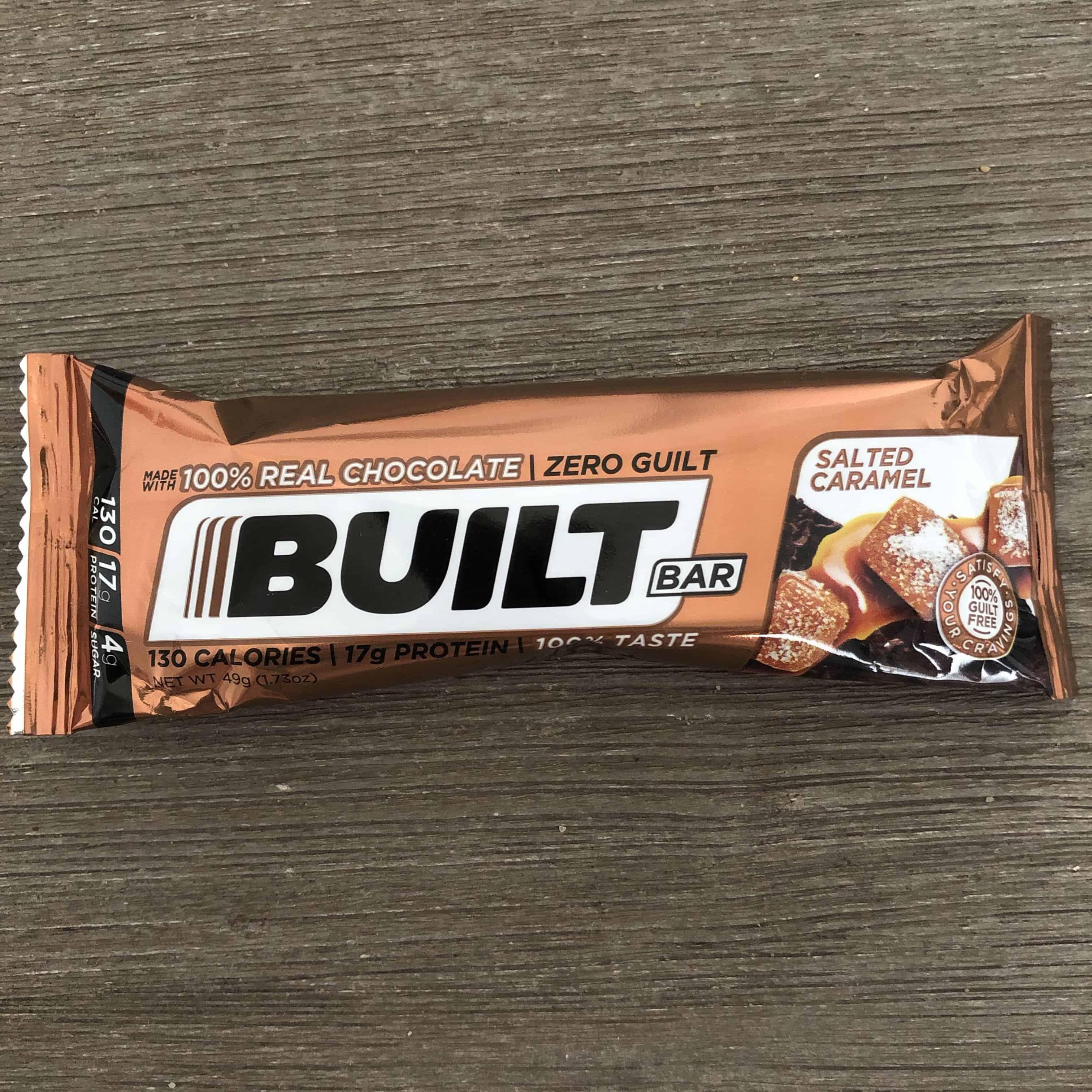 salted caramel builtbar