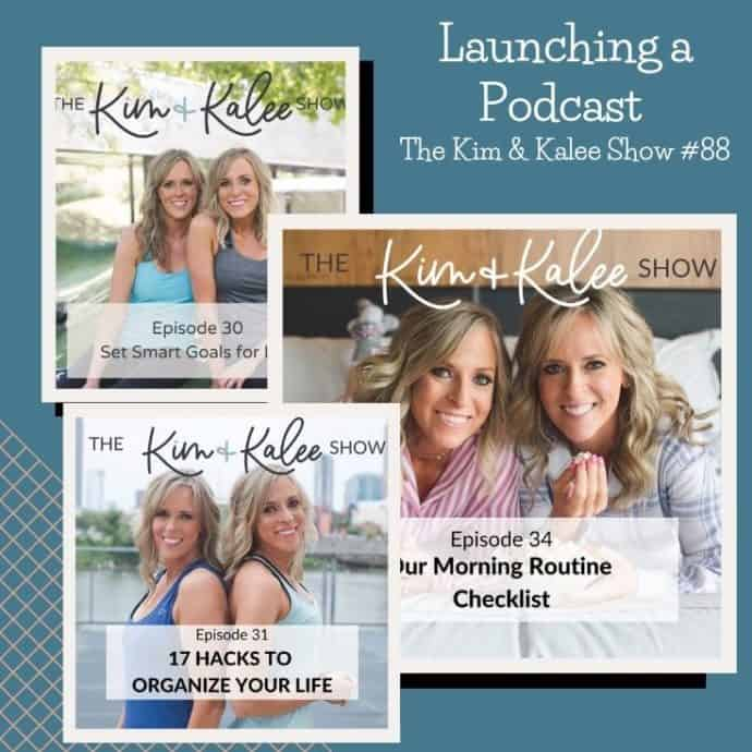 collage of different Kim & Kalee Show pics