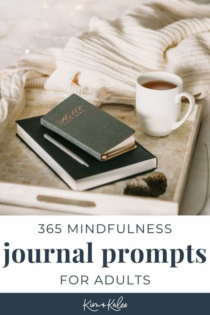 365 mindfulness journal prompts for adults