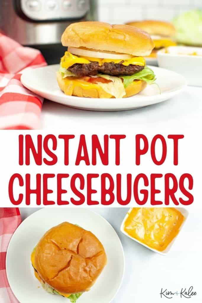 instant pot burgers