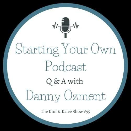 """text """"starting your own podcast q & a with Danny Ozment"""""""