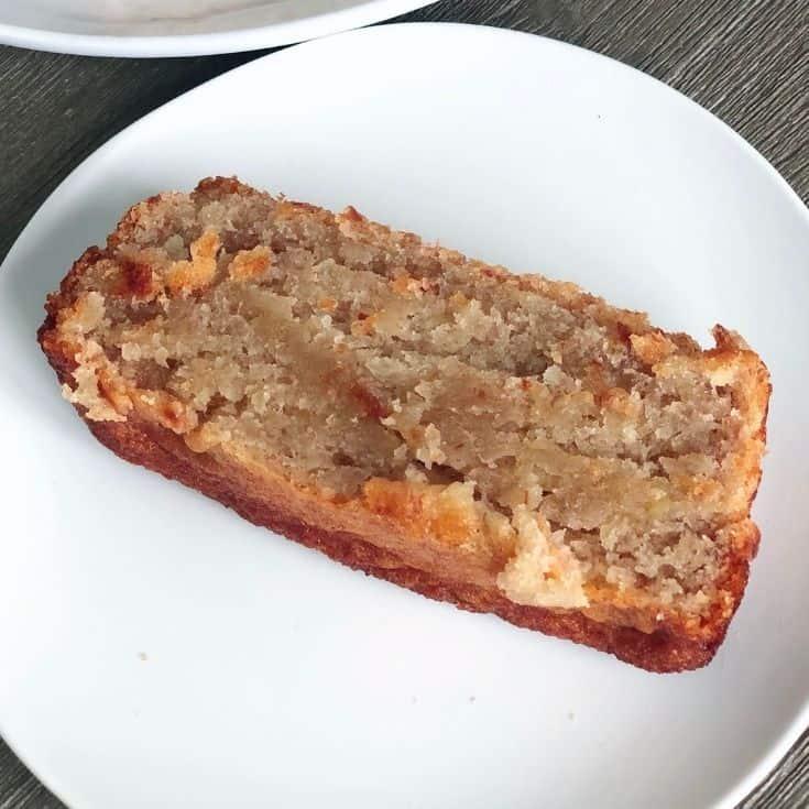 Slice of Hawaiian Banana Bread Recipe