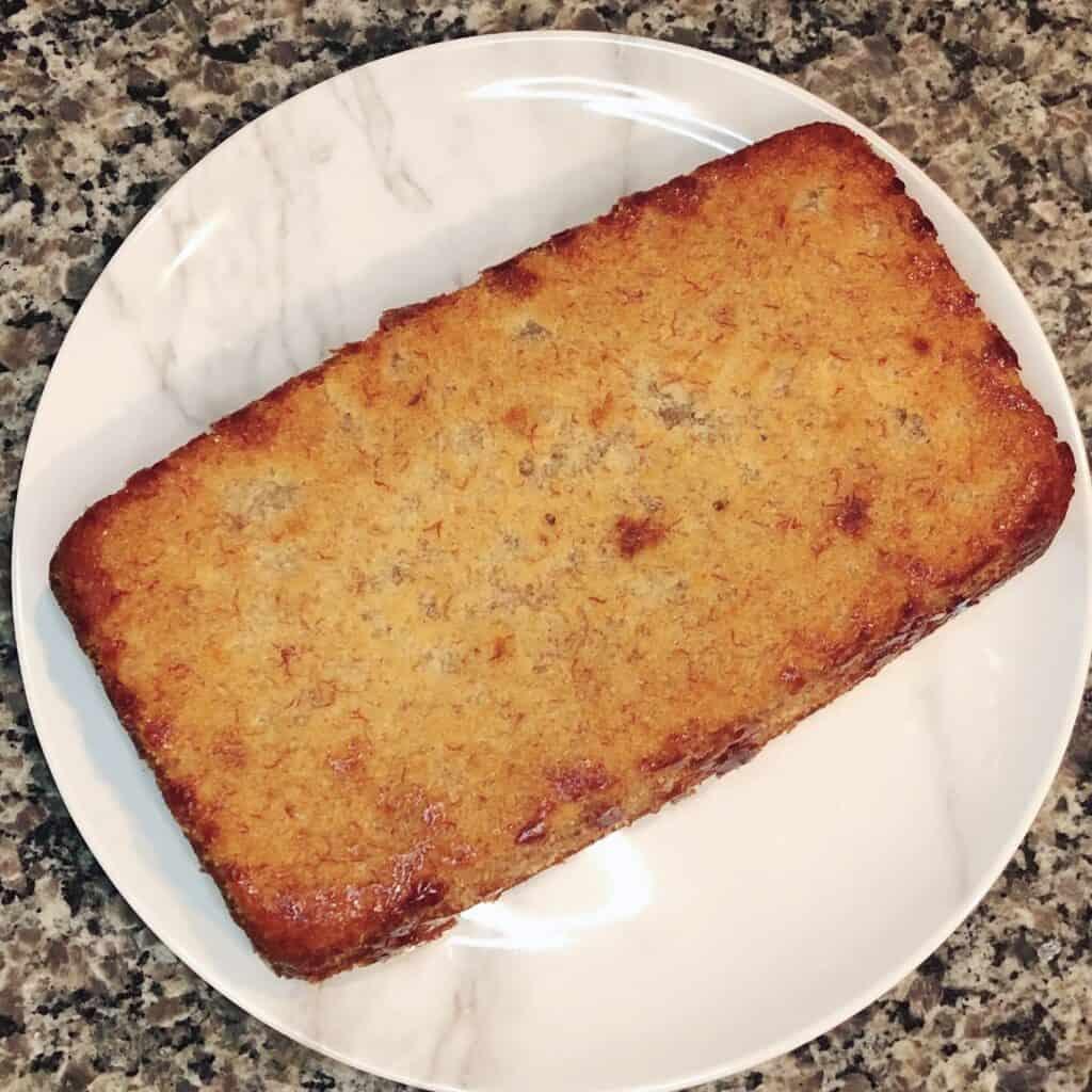 loaf of hawaiian banana bread