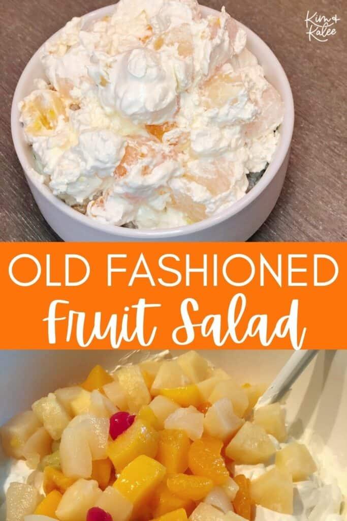 Old Fashioned Ambrosia Fruit Salad Recipe
