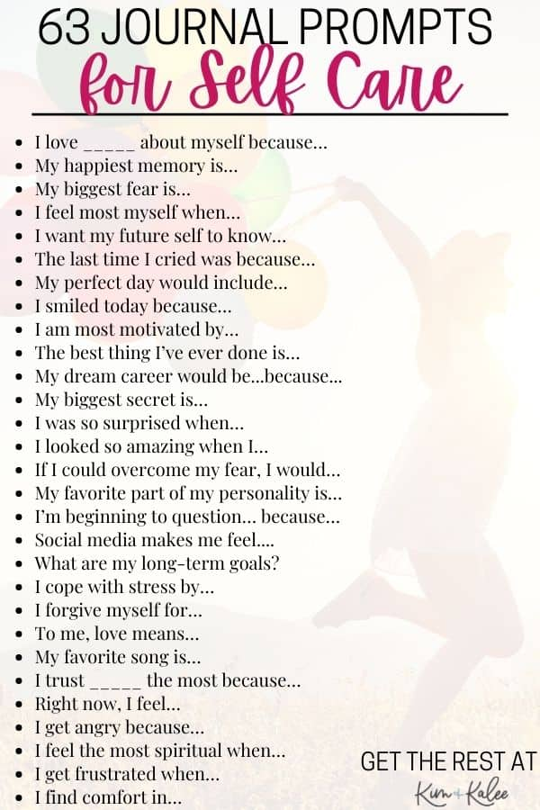 a list of therapy journal prompts