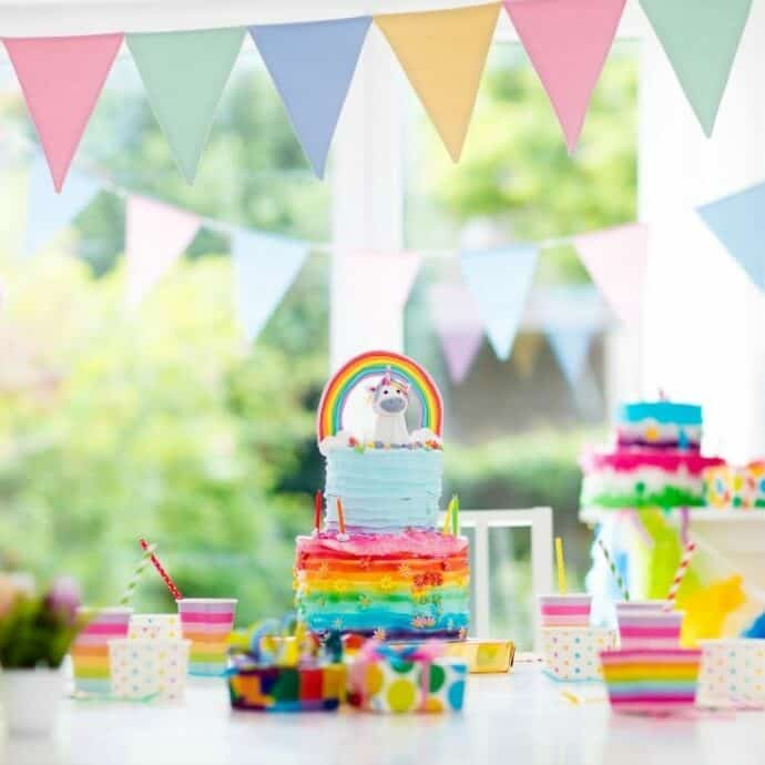 10th birthday party cake