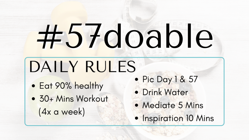 75 Soft Challenge is the 57 Doable