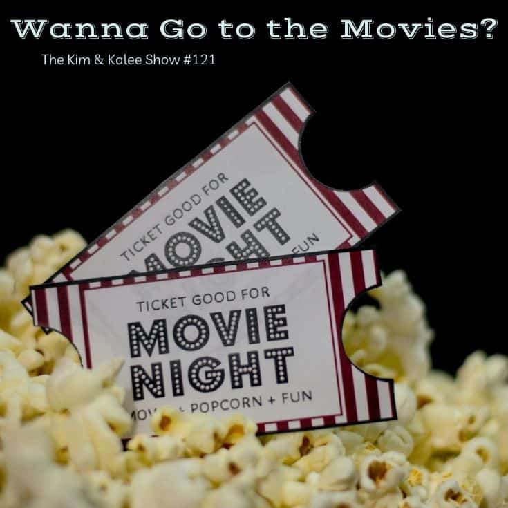 two movie tickets over popcorn